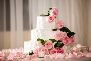 Miami wedding photographer cake