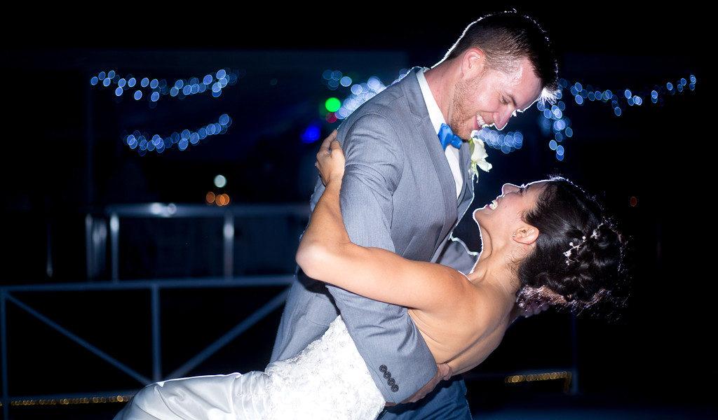 Wedding photographer in Miami Dip shot